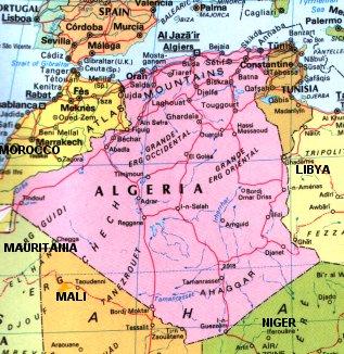 Birds on stamps Algeria Algerije Algrie