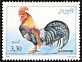Red Junglefowl Gallus gallus  1990 Domestic animals 4v set
