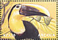Yellow-throated Toucan Ramphastos ambiguus  2000 Animals of the world 6v sheet