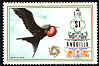 Magnificent Frigatebird Fregata magnificens  1972 Definitives