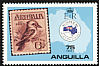 Laughing Kookaburra Dacelo novaeguineae  1984 Ausipex 84, stamp on stamp 4v set