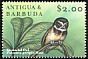 Spectacled Owl Pulsatrix perspicillata  2000 Stamp Show 2000
