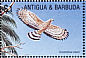 Cuban Kite Chondrohierax wilsonii  2002 Fauna and flora of the Caribbean 9v sheet