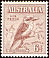 Laughing Kookaburra Dacelo novaeguineae  1932 Definitives Bird facing right