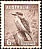 Laughing Kookaburra Dacelo novaeguineae  1942 Definitives With wmk, p 15x14