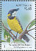 Mangrove Golden Whistler Pachycephala melanura  2009 Australian songbirds 'Celebrating Stamp Bulletin'