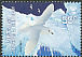 Snow Petrel Pagodroma nivea  2009 Preserve the polar regions and glaciers 2v set
