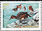 Ferruginous Duck Aythya nyroca  2000 WWF, Ferruginous Pochard Sheet with 2 sets
