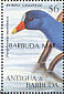Purple Gallinule Porphyrio martinica  1997 Overprint BARBUDA MAIL on Antigua & B 1995.05