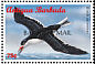 Black Skimmer Rynchops niger  1998 Overprint BARBUDA MAIL on Antigua & B 1996.01 Strip