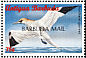 Northern Gannet Morus bassanus  1998 Overprint BARBUDA MAIL on Antigua & B 1996.02 Strip