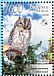 Eurasian Scops Owl Otus scops  2008 Owls BirdLife Sheet with 2 sets