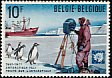 Adelie Penguin Pygoscelis adeliae  1971 10th anniversary of Antarctic treaty