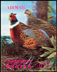 Common Pheasant Phasianus colchicus  1969 Birds 3-D stamps