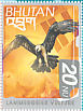 Bearded Vulture Gypaetus barbatus  1999 Birds of the Himalayas Sheet