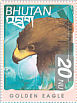 Golden Eagle Aquila chrysaetos  1999 Birds of the Himalayas Sheet