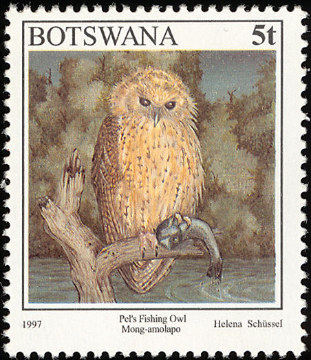 pel s fishing owl stamps images