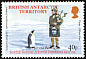 Emperor Penguin Aptenodytes forsteri  2002 Scottish expedition to Antarctic 1902-04 6v set