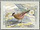 Grey-crowned Rosy Finch Leucosticte tephrocotis  1998 Birds of Canada Sheet or strip