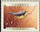 Canada Warbler Cardellina canadensis  2000 Birds of Canada Sheet or strip