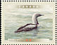 Pacific Loon Gavia pacifica  2000 Birds of Canada Sheet or strip