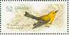 Prothonotary Warbler Protonotaria citrea  2008 Endangered species 4v sheet