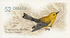 Prothonotary Warbler Protonotaria citrea  2008 Endangered species Booklet, sa
