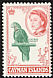 Cuban Amazon Amazona leucocephala  1962 Definitives