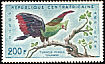 Guinea Turaco Tauraco persa  1960 Definitives
