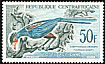 Great Blue Turaco Corythaeola cristata  1962 Definitives