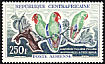Red-headed Lovebird Agapornis pullarius  1963 Definitives