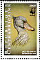 Shoebill Balaeniceps rex  1999 WWF Strip