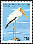 Yellow-billed Stork Mycteria ibis  1999 African birds