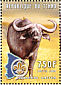 Yellow-billed Oxpecker Buphagus africanus  2000 Buffalos 4v sheet with 2 of each