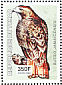 Red-tailed Hawk Buteo jamaicensis  2003 Birds of prey Sheet