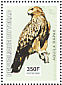 Tawny Eagle Aquila rapax  2003 Birds of prey Sheet
