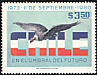 Andean Condor Vultur gryphus  1980 7th anniversary of Military Government