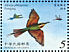 Blue-tailed Bee-eater Merops philippinus  2003 Conservation of birds Sheet, no frames