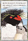 Southern Rockhopper Penguin Eudyptes chrysocome  1999 Fauna and flora 8v sheet