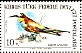 European Bee-eater Merops apiaster  1983 Birds of Cyprus Sheet