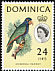 Imperial Amazon Amazona imperialis  1963 Definitives
