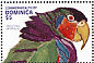 Imperial Amazon Amazona imperialis  1991 Year of environment