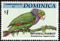 Imperial Amazon Amazona imperialis  1994 Endangered species 8v set