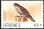 Broad-winged Hawk Buteo platypterus  1999 Fauna 6v set