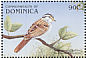 White-throated Sparrow Zonotrichia albicollis  1999 Fauna 12v sheet