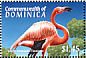 American Flamingo Phoenicopterus ruber  2000 Animals of the Caribbean and Central America 6v sheet