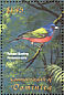 Painted Bunting Passerina ciris  2001 Tropical fauna and flora 6v sheet