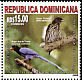 Palmchat Dulus dominicus  2008 Friendship with Taiwan 3v set