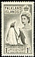 Gentoo Penguin Pygoscelis papua  1955 Definitives, Elisabeth II
