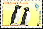 Southern Rockhopper Penguin Eudyptes chrysocome  1974 Tourism 4v set
